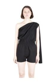 Cropped Asymmetrical Flightsuit