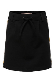 KONPOPTRASH DUO MIX SKIRT Black/MANGO MOJITO PANEL