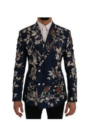 Bird Print Slim Fit Blazer