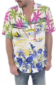 Chemise fluide hawaienne F92H03 WO02S