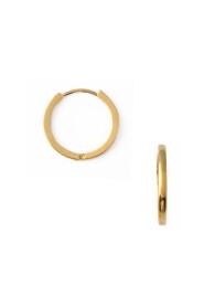 Clean Metal Mid-Sized Hoops Jewelry