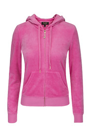 Juicy Couture J Bling RB Velour Jacket Cerise rosa