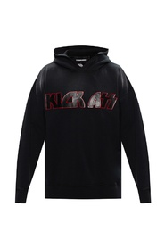 Logo-patched hoodie
