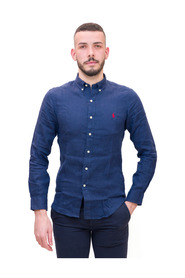 Camicia in Lino Slim Fit