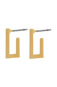 Earrings Theia Small Open Square