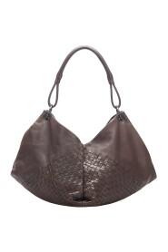 Aquilone Leather Shoulder Bag