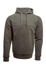 embossed hoodie m306