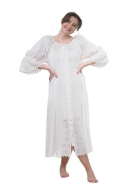 Broderie Anglaise Shift Dress