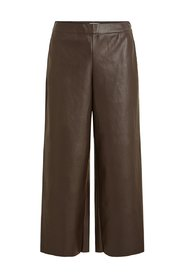 Leather trousers Cropped faux