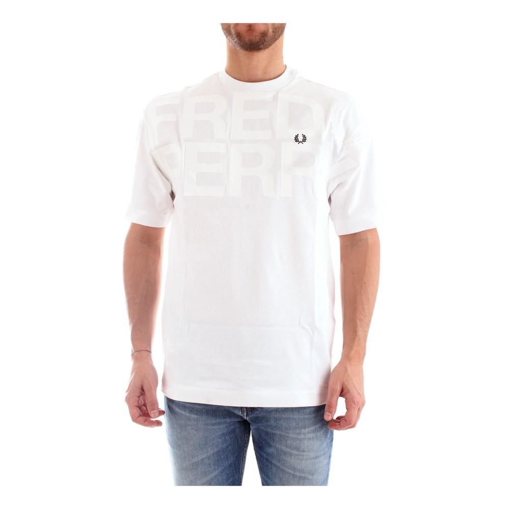 M6518 T-SHIRT Men WHITE  Fred Perry  T-shirts
