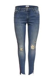 Skinny fit jeans Carmen reg ankle tejp