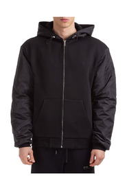 men's outerwear jacket blouson hood cross