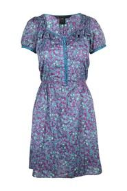 Flower Print Cotton Dress -Pre Owned Condition Very Good