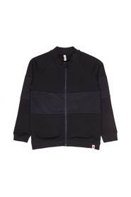 Bomber with zipper sweatshirt