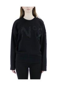 Perforated logo sweatshirt