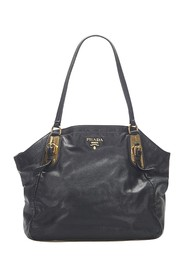 Vitello Shine Leather Tote Bag