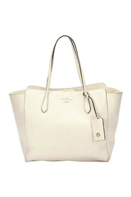 Pre-owned Swing Tote Bag Leather Calf
