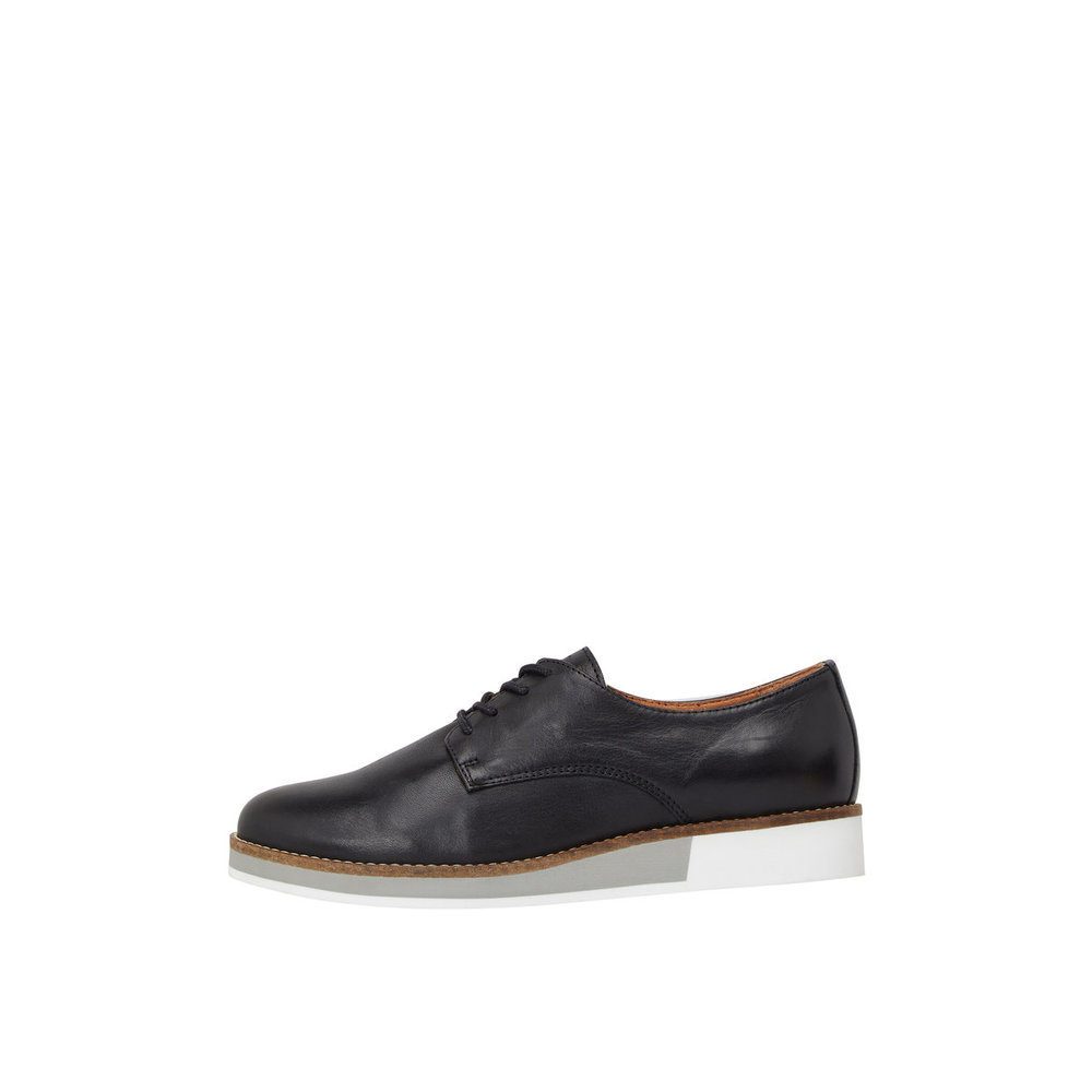 Shoes Two-Tone Lace-Up