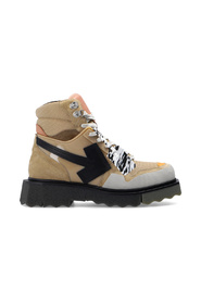 Hiking boots with logo