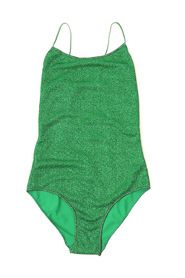 One-piece swimsuit with thin straps
