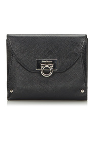 Leather Gancini Small Wallet
