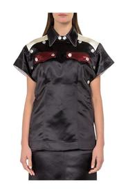 Satin Buttoned Top