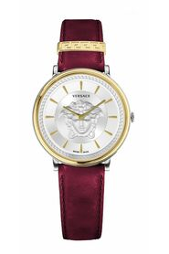 V-Circle Lady Leather Watch