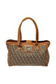 Pre-owned Signature Canvas and Leather Tote