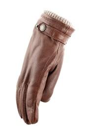 Rękawica ze wzorem Udjø w skórze łosia