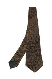 Paisley Patterned Silk Jacquard Tie
