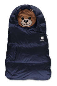 padded nylon sleeping bag