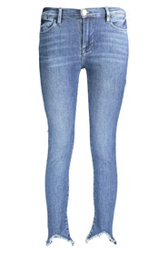 Le High Double Triangle Raw Beast Jeans