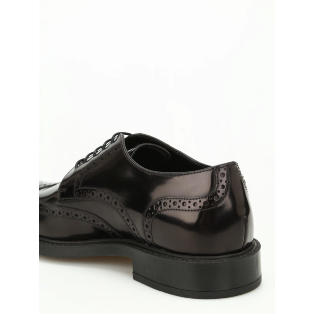Tod's Nero Lace-up in leather Tod's