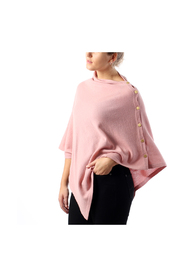 Poncho gold buttons