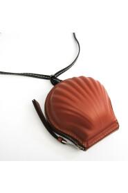 Loewe Seashell 111.10.161 Women's Leather Pochette