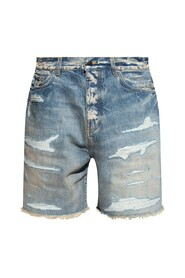 Shorts with vintage effect