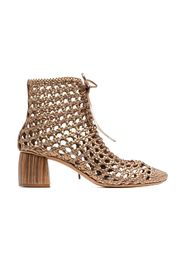 Braided nappa chic booties