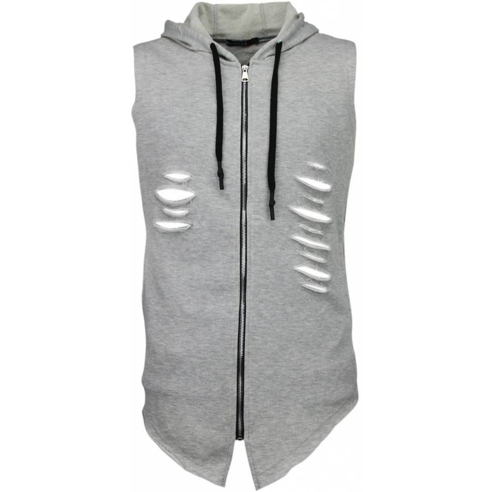 Exclusive Hoodie - Ripped Short Arm