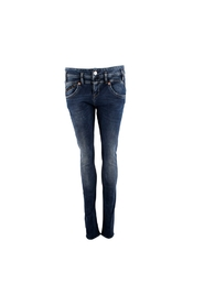 PEARL SLIM DENIM JEANS