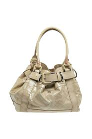 Pre-owned Quilted Patent Leather Beaton Tote