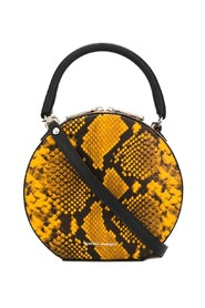 Snake effect neomi circle bag