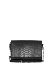 Decadent Evelyn Cross Body Anaconda Svart