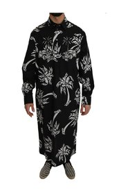 Cotton Palm Tree Shirt Thawb Kaftan