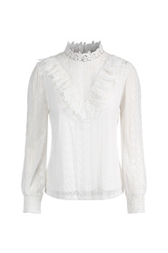 Mesh Lace Top Topper
