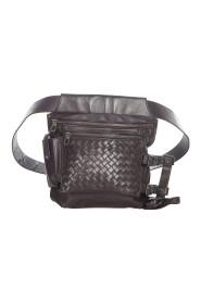 Brukt Intrecciato Leather Belt Bag