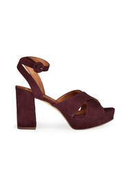Cross Suede Sandal