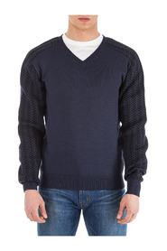 men's v neck jumper sweater pullover