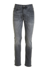 5-pocket skinny washed jeans