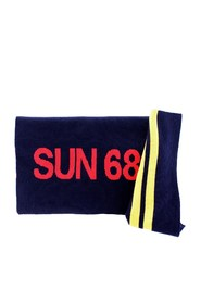 SUN 68 C29125 Scarf Men BLUE NAVY
