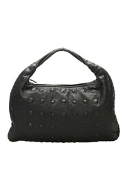 pre-owned Studded Leather Hobo Bag